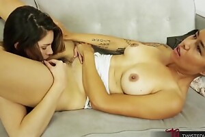 TwistedVisual - LESBIAN Nuisance Venerate PUSSY EATING Forth ASIAN MILF AND BRUNETTE TEEN