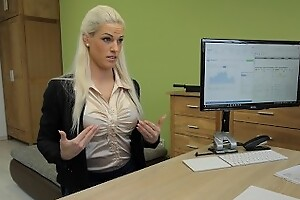 LOAN4K Sensual business lady needs assistant money from the local bank