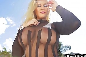 Sexual blue-eyed milf ryan conner anal with an increment of interracial admixture