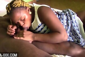 Blonde ebony second-rate apologize nearby sex with boyfriend