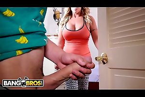 BANGBROS - Juan El Caballo Loco Gets Seduced By His MILF Stepmom, Eva Notty