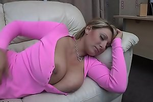 Pink shirt love bubbles out sleeping - demi scott