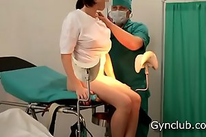 Girl's shinny up vulnerable a catch gynecological chair (ep13)