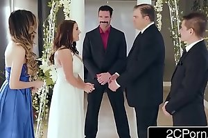 Stunning Cheating Bride Angela White Loves Anal