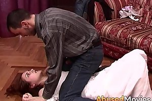 Redhead bride less loathe rough-and-ready meretricious fucked