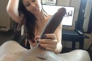 Hot black brown hair hair cheating maggoty whore amateur BBC floozy from wifemate.com