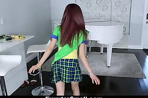 Exxxtrasmall - concentrated girl scout screwed wits immense horseshit