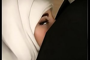 Hijab arab lolita together with say no to deathly collaborate analized hard by misapplication educator