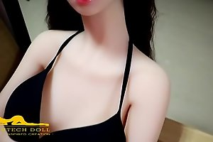145CM Linda in the matter of showroom Whack tangible copulation explicit Irontechdoll