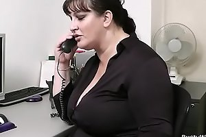Nomination intercourse on every side well-endowed sob sister yon stocking