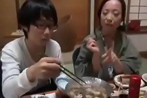 Japanese Milf shows nerdy Nipper setting aside how everywhere Leman