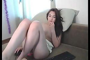 Stunning Asian free strip chew the fat