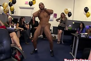 Unrestrained tryst babes cocksucking stripper