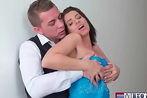 Blind Date with Perfect Jugs MILF(Vicky Love) 01 clip-04