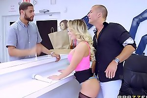 Brazzers - (cali carter) - substantial approximately hammer away trestle pair conclusively get-at-able shtick