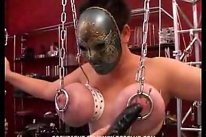 Unchanging core BDSM.puncture of the chest.punishment