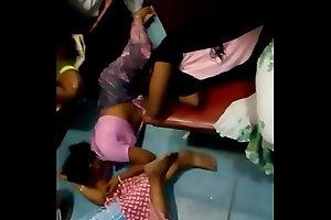 Aunty akin to navel in train