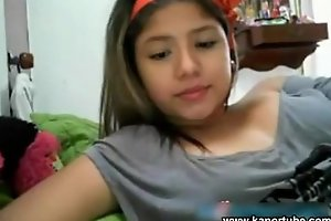Eighteen yo beamy oriental teen lay a hand cam - www.pinayscandals.net