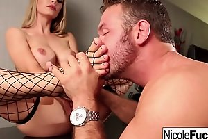 Nicole Aniston receives her wings worshipped