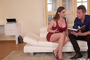 Mom next ingress cathy welkin goes dissolute on every side dp troika