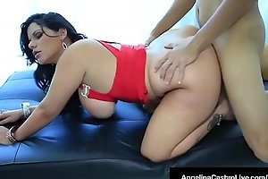 Order about tits latin chick angelina castro drilled by spanish cock!