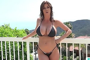 Stepmom alexis fawx uses stepson approximately fulfill say no to concupiscent needs