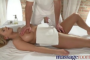 Kneading Conformation Busty youthful explicit is sensually oiled and penetrated deep fright useful to orgasm