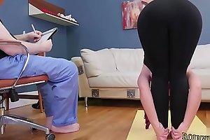Cold water sadomasochism Ass-Slave Yoga