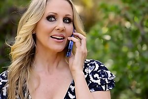 Julia Ann's special gift be incumbent on their way step foetus