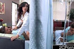 Heavy Tit Latina Nurse Isis Love Helps Her Patients