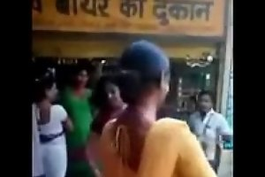 Indian naughty street girls doing naughty act insusceptible to road