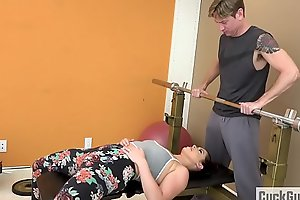 Cheating Join in wedlock Fucked by Her Gym Trainer