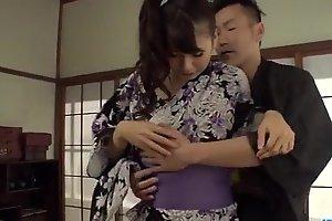 Yui Oba superb porn adventure caught beyond cam