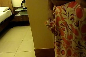 Wear and Cum in Satin silk saree be advisable for neighbor 3