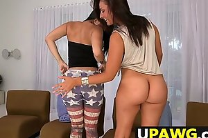 Diamond Kitty and Nikki Lavay Ass Attack