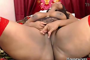 Squirting latina Eva nigh enormous asshole assfucking