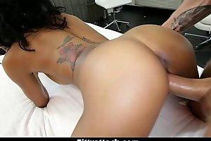 TittyAttack- Busty Ebony Anya Ivy Gets Fucked