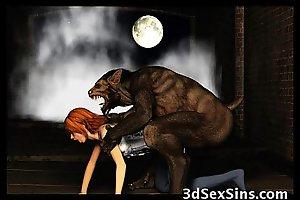 3D Demons Bonk Hot Babes!