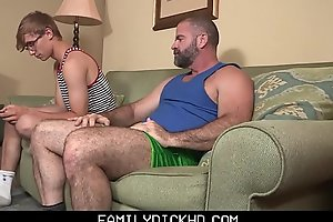 Continue Stepdad Treats His Young Stepson Take Ice Cream And His Big Daddy Cock
