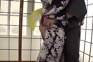 Grim Yui Oba enjoys man skunk with an increment of sucking her tits  - More to hand Japanesemamas com