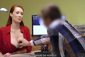 LOAN4K. Loan porn of Isabella Lui who hypnotizes impresario with tits