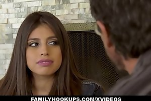 FamilyHookUps - Teen Receives Titty Drilled by Uncle