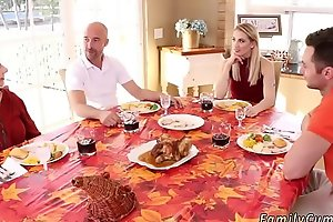 Padre accidentally cream pies companion'_ ally'_s daughter Spanksgiving