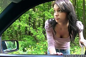 Amateur teen fucking pov open-air by along to governing
