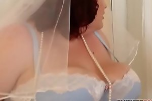 Bbw china eliza allure copulates best man's stripe together
