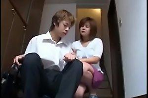 Japanese mom fuck mesh bath