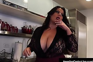 Hawt BBW Angelina Castro Shares BF'_s Cock With Roberta Gemma!