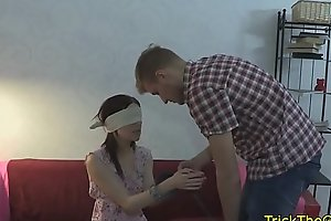Real russian gf assfucked onwards of her bf