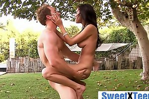 Naughty Young Girl April O'_Neil Loves Fresh Air Sexual intercourse