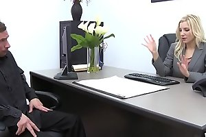 Ashley Fires Screwed At The Office